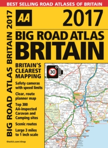 AA Big Road Atlas Britain, Spiral bound