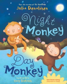 Night Monkey, Day Monkey, Paperback Book