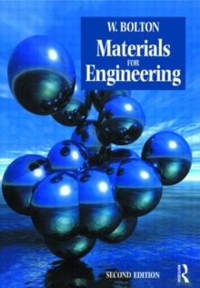 Materials for Engineering, Paperback Book