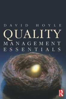 Quality Management Essentials, Paperback