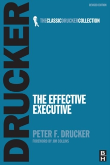 The Effective Executive, Paperback