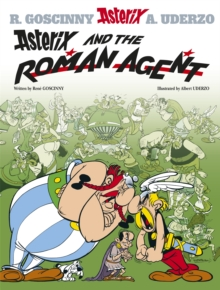 Asterix and the Roman Agent, Hardback Book
