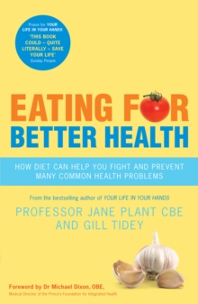 Eating for Better Health, Paperback Book