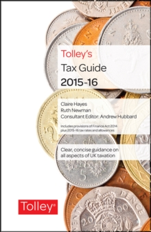 Tolley's Tax Guide, Hardback