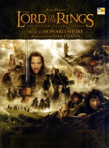LORD OF THE RINGS TRILOGY EASY PIANO,  Book