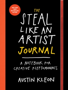 The Steal Like an Artist Journal, Paperback