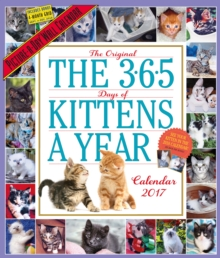 The 365 Kittens-A-Year Wall Calendar 2017, Calendar Book