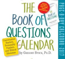The Book of Questions Page-A-Day Calendar 2017, Calendar