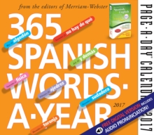 365 Spanish Words-A-Year Page-A-Day Calendar, Calendar