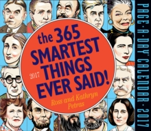 The 365 Smartest Things Ever Said! Page-A-Day Calendar 2017, Calendar