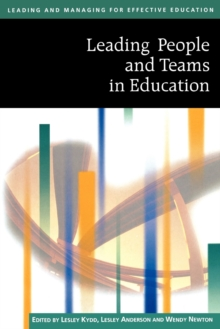 Leading People and Teams in Education, Paperback Book
