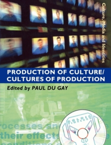 Production of Culture/Cultures of Production, Paperback