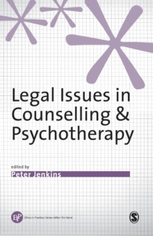 Legal Issues in Counselling and Psychotherapy, Paperback