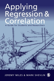 Applying Regression and Correlation : A Guide for Students and Researchers, Paperback