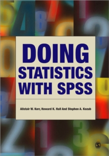 Doing Statistics with SPSS, Paperback