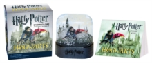 Harry Potter Hogwarts Castle Snow Globe and Sticker Kit, Mixed media product Book