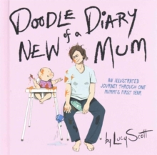 Doodle Diary of a New Mom, Hardback Book