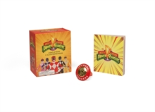 Mighty Morphin Power Rangers Light-Up Ring and Illustrated Book, Mixed media product