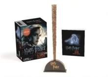 Harry Potter Hermione's Wand with Sticker Kit : Lights Up!, Mixed media product