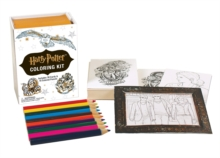 Harry Potter Coloring Kit, Mixed media product Book