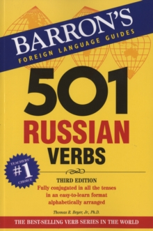 501 Russian Verbs, Paperback