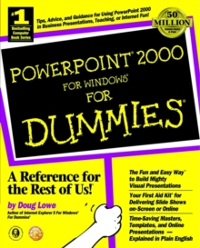 PowerPoint 2000 for Windows For Dummies, Paperback