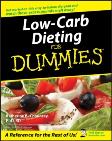 Low-Carb Dieting For Dummies, Paperback