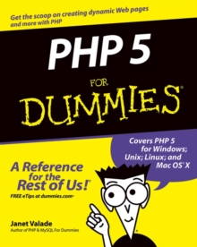 PHP 5 for Dummies, Paperback