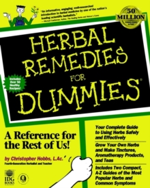 Herbal Remedies For Dummies, Paperback
