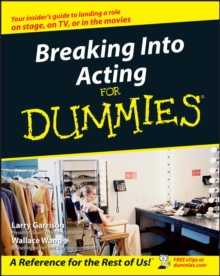 Breaking into Acting for Dummies, Paperback