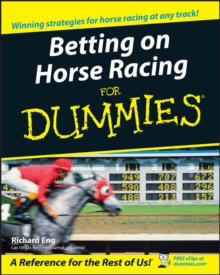 Betting on Horse Racing For Dummies, Paperback