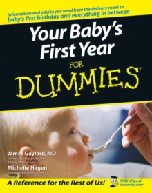 Your Baby's First Year For Dummies, Paperback