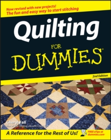 Quilting For Dummies, Paperback Book