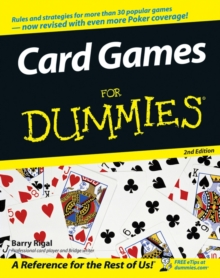 Card Games For Dummies, Paperback