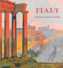 Italy : Vintage Travel Posters 2017 Wall Calendar, Calendar Book