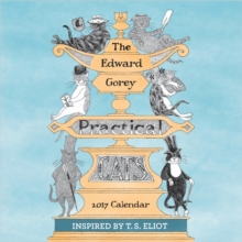 The Edward Gorey Practical Cats 2017 Mini Wall Calendar, Calendar