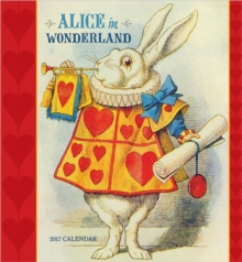 Alice in Wonderland 2017 Wall Calendar, Calendar