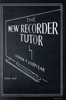 NEW RECORDER TUTOR BOOK 1, Paperback