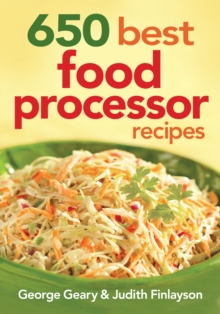 650 Best Food Processor Recipes, Paperback