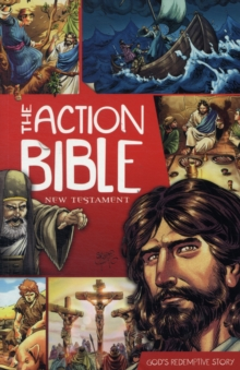 Action Bible New Testament, Paperback Book