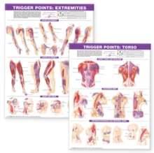 Trigger Point Chart Set : Torso and Extremities, Wallchart Book