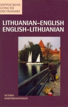 Lithuanian-English / English-Lithuanian Concise Dictionary, Paperback Book