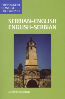 Serbian-English English-Serbian Concise Dictionary, Paperback Book