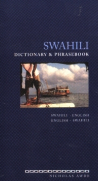 Swahili-English/English-Swahili Dictionary and Phrasebook, Paperback Book