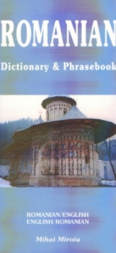 Romanian-English/English-Romanian Dictionary and Phrasebook, Paperback