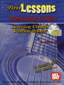 First Lessons Beginning Guitar, Paperback Book