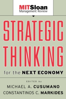 Strategic Thinking for the Next Economy, Paperback Book