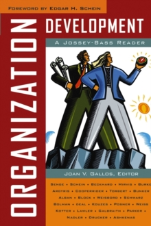 Organization Development : A Jossey-Bass Reader, Paperback Book