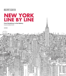 New York Line by Line, Hardback Book