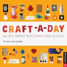 CRAFTADAY 2017 DAYTODAY CALENDAR,